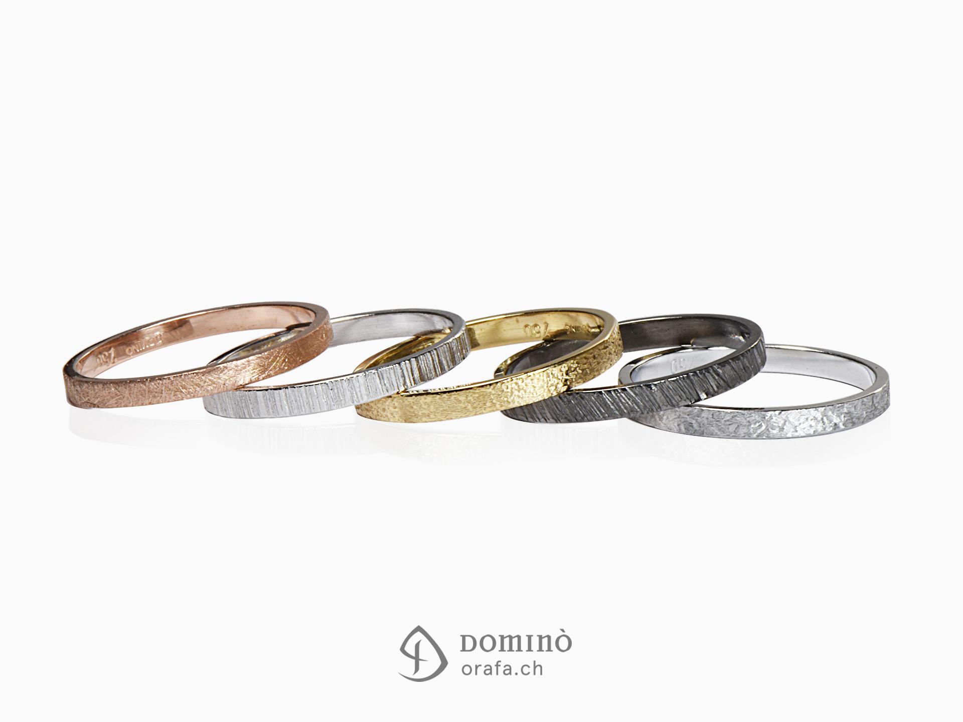 anelli componibili domin orafa