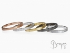 Modular rings Yellow gold 18 kt