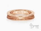 Conca rings Red gold 18 kt