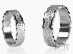 Irregular Corteccia/polished rings