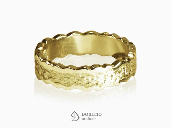 anelli-corteccia-lucido-irregolare-bordo-frastagliato-oro-giallo