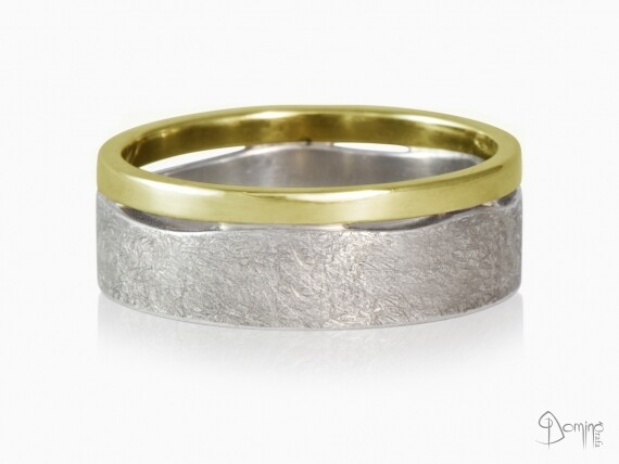 anelli-doppi-onda-lucido-graffiato-bicolore-variante-oro-bianco-giallo