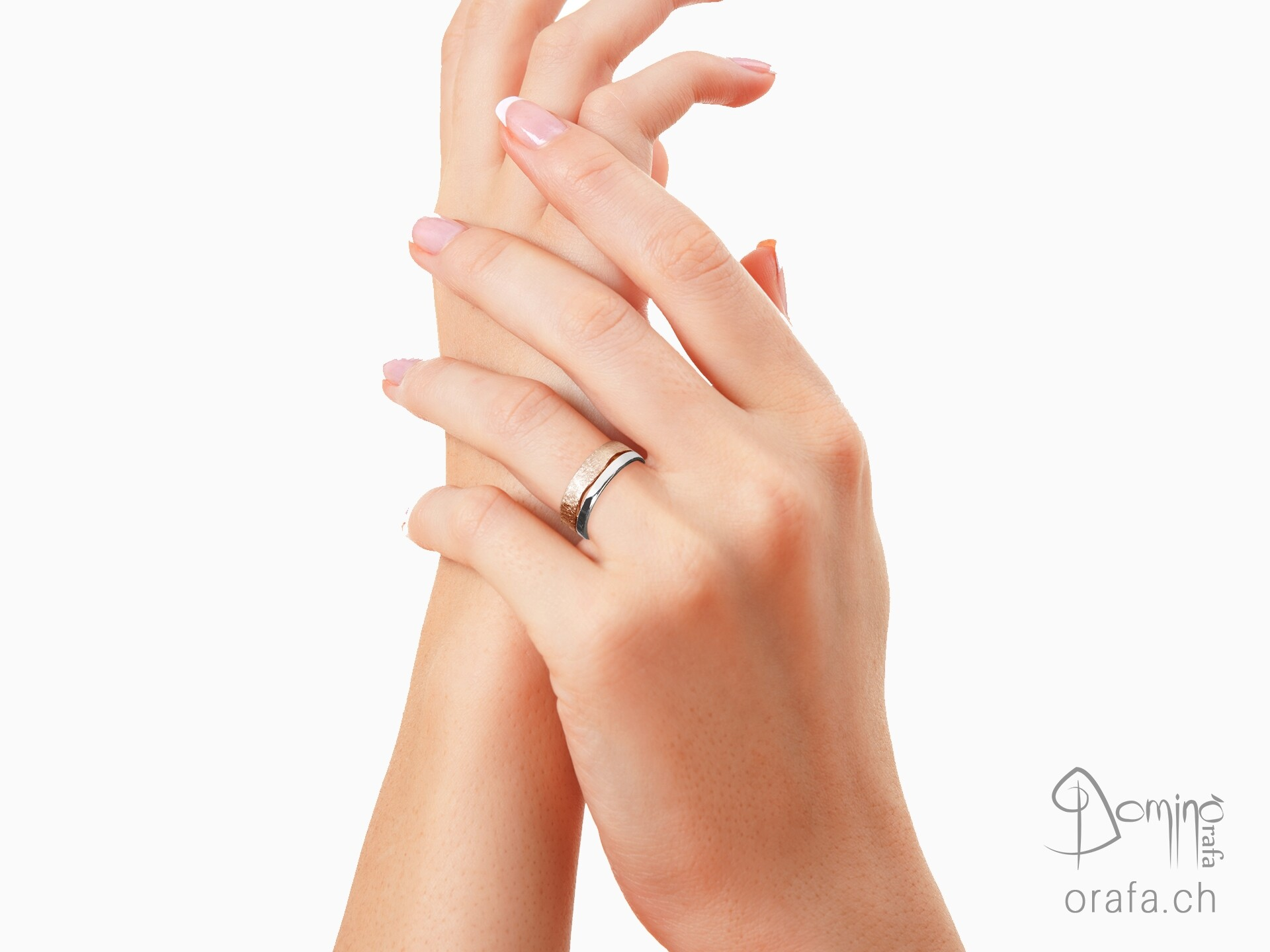 anelli-doppi-onda-lucido-graffiato-bicolore-1