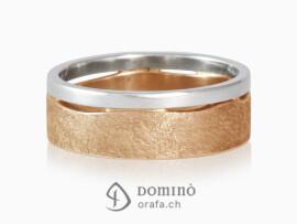 anelli-doppi-onda-lucido-graffiato-bicolore-oro-bianco-rosso