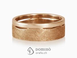 anelli-doppi-onda-lucido-graffiato-oro-rosso