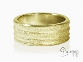 anelli-dune-sabbiate-oro-giallo