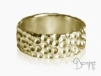 Gocce ring Yellow gold 18 kt