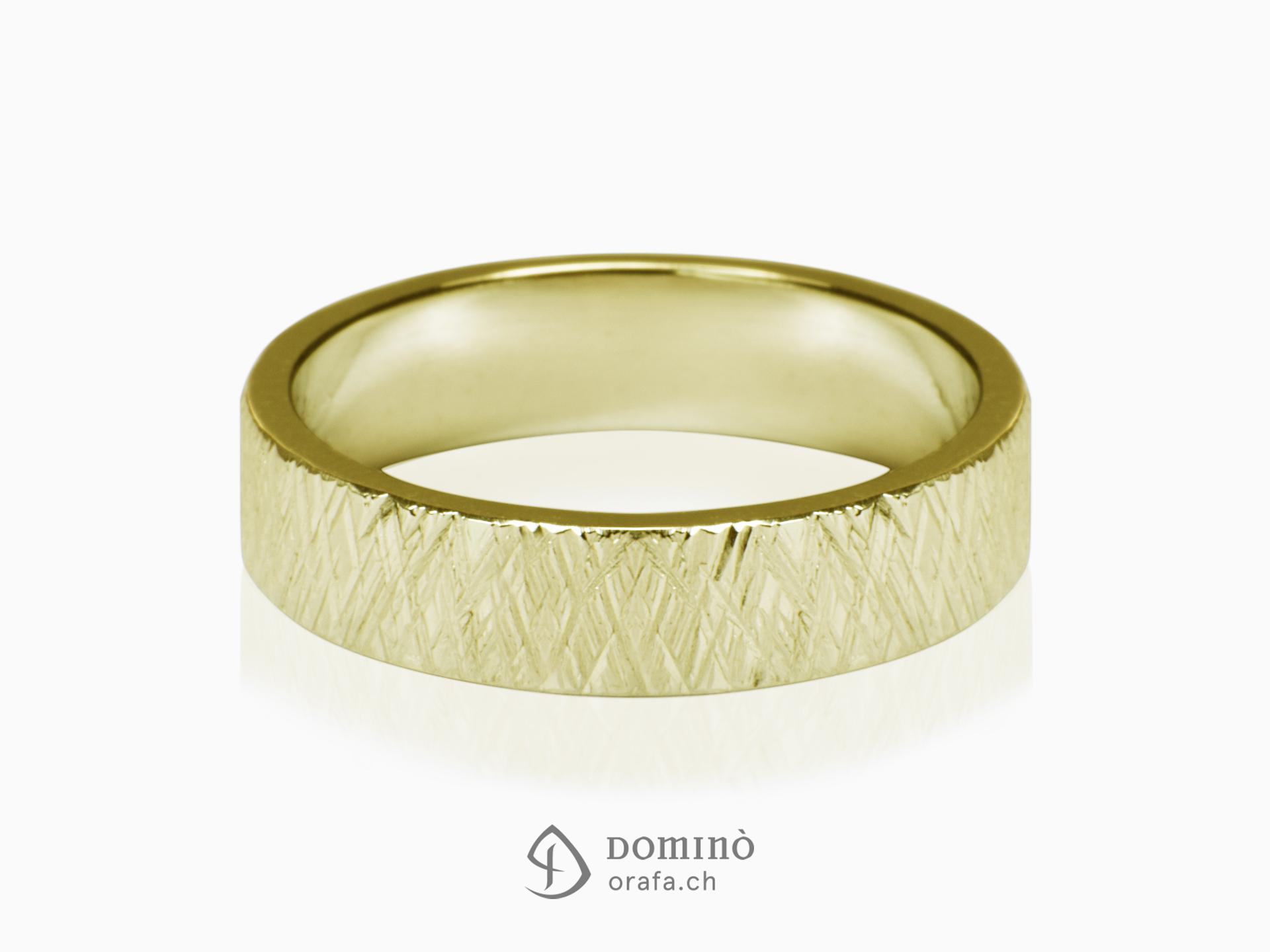 Crossed Linee ring