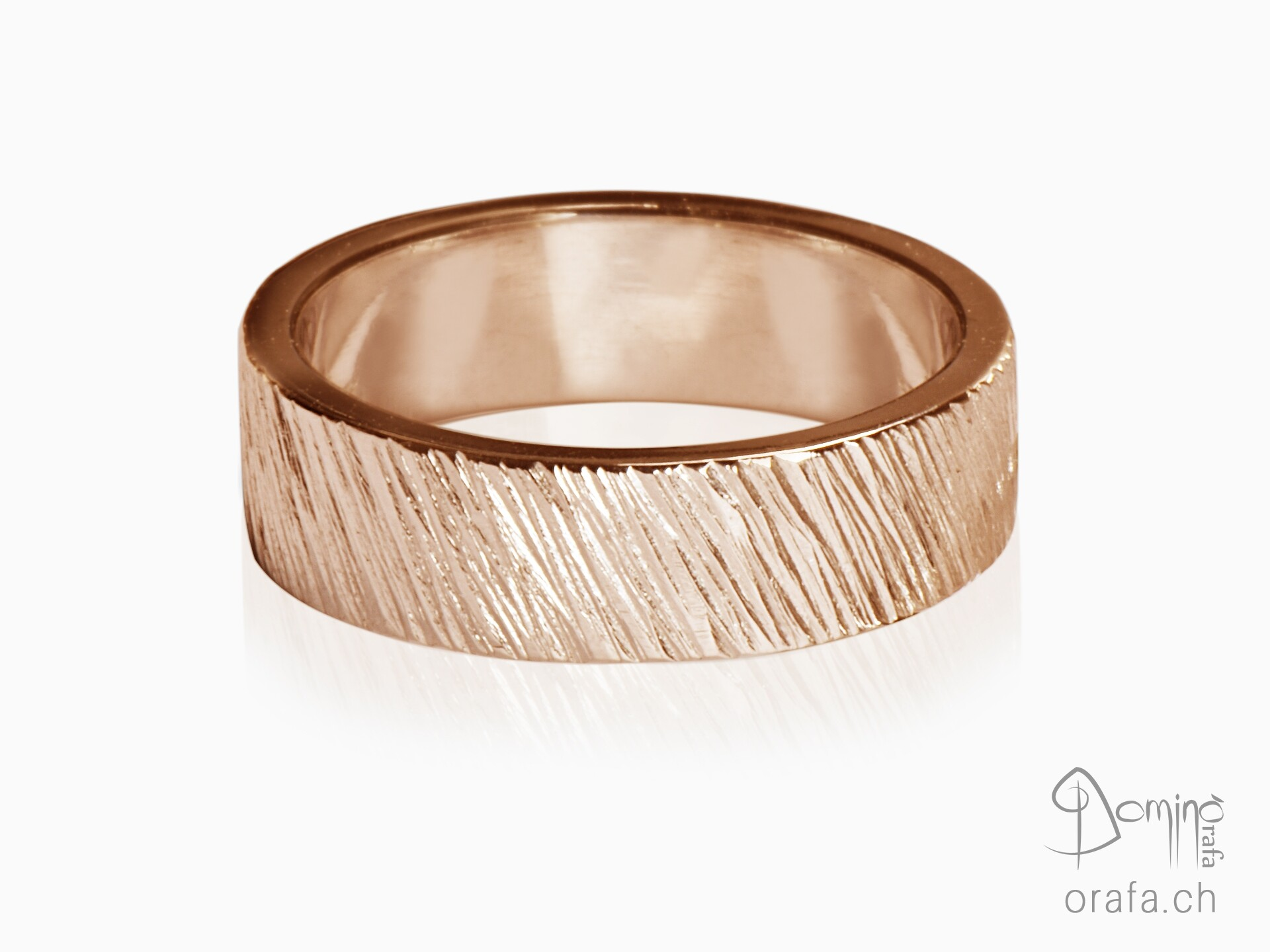 Oblique Linee ring