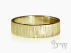 Horizontal Linee rings Yellow gold 18 kt