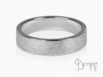 Vertical Linee rings White gold 18 kt