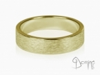 Vertical Linee rings Yellow gold 18 kt
