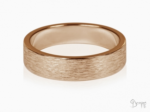 anelli-linee-verticali-oro-rosso