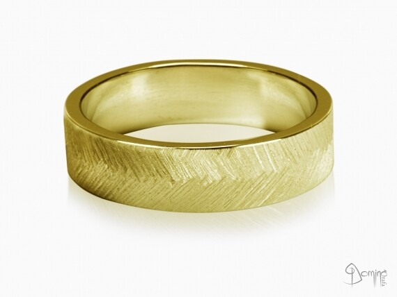 anelli-piuma-oro-giallo