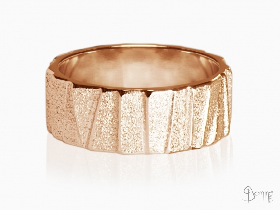anelli-scalini-irregolari-sabbiati-oro-rosso