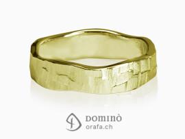anelli-sentiero-bordi-irregolari-oro-giallo