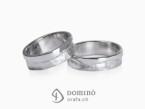 Sentiero/polished wave ring
