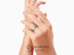 Polished Solchi rings satin finish