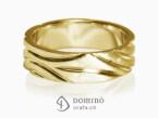 Polished Solchi rings satin finish Yellow gold 18 kt