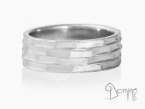 Tasselli ring White gold 18 kt