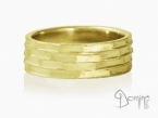 Tasselli ring Yellow gold 18 kt