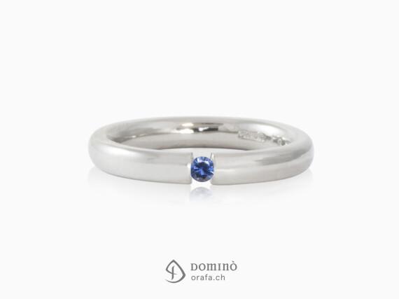 anello-bombato-lucido-zaffiro-blu-0.06ct-oro-bianco