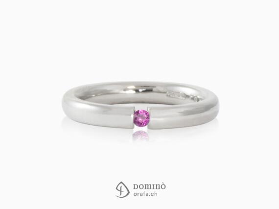 anello-bombato-lucido-zaffiro-rosa-0.06ct-oro-bianco
