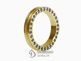 anello-conca-diamanti-neri-bordo-oro-giallo