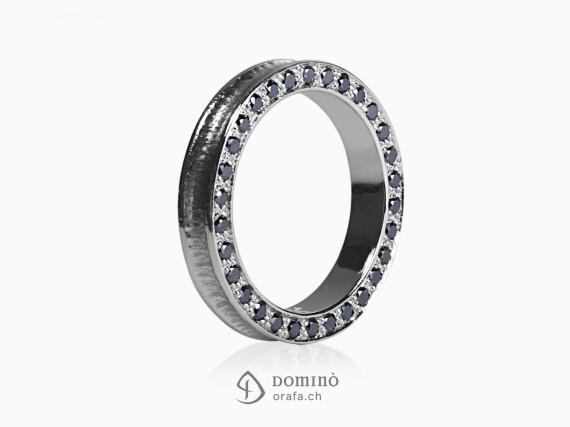 anello-conca-diamanti-neri-bordo-oro-bianco