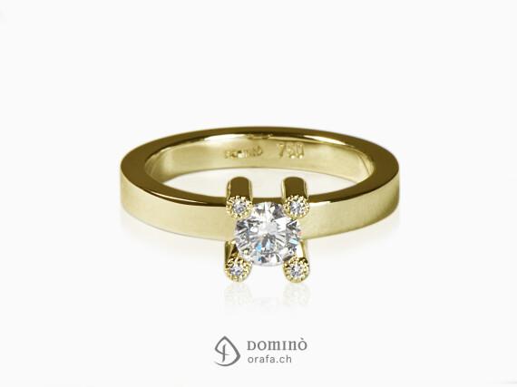 anello-diamante-centrale-4-diamanti-griffes-oro-giallo