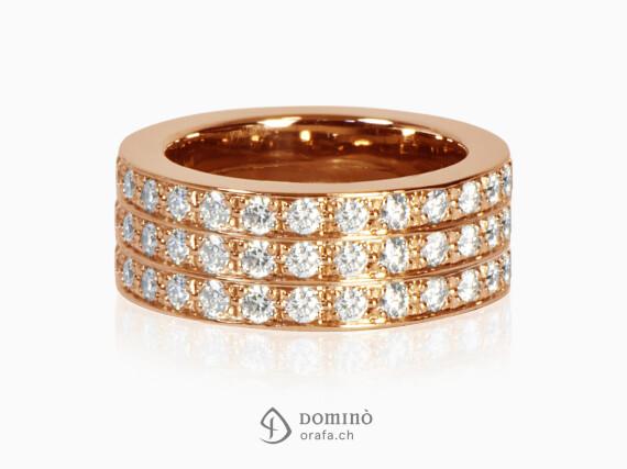 anello-diamanti-incolore-3-file-oro-rosso