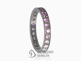 anello-diamanti-sfumatura-zaffiri-rosa-rodiato-nero-oro-bianco