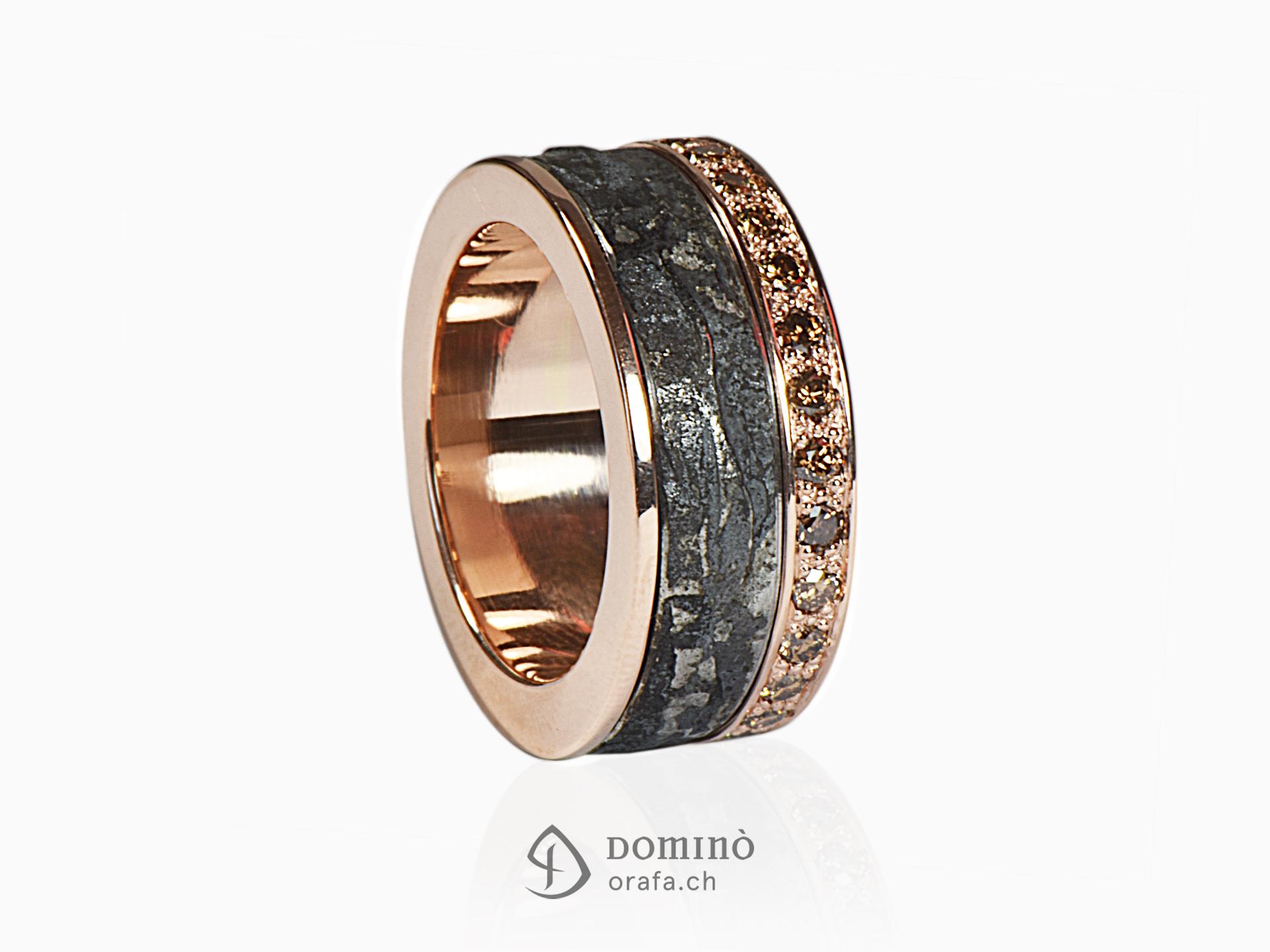 anello-ferro-metallo-prezioso-diamanti-incolore-sfumati-brown-1