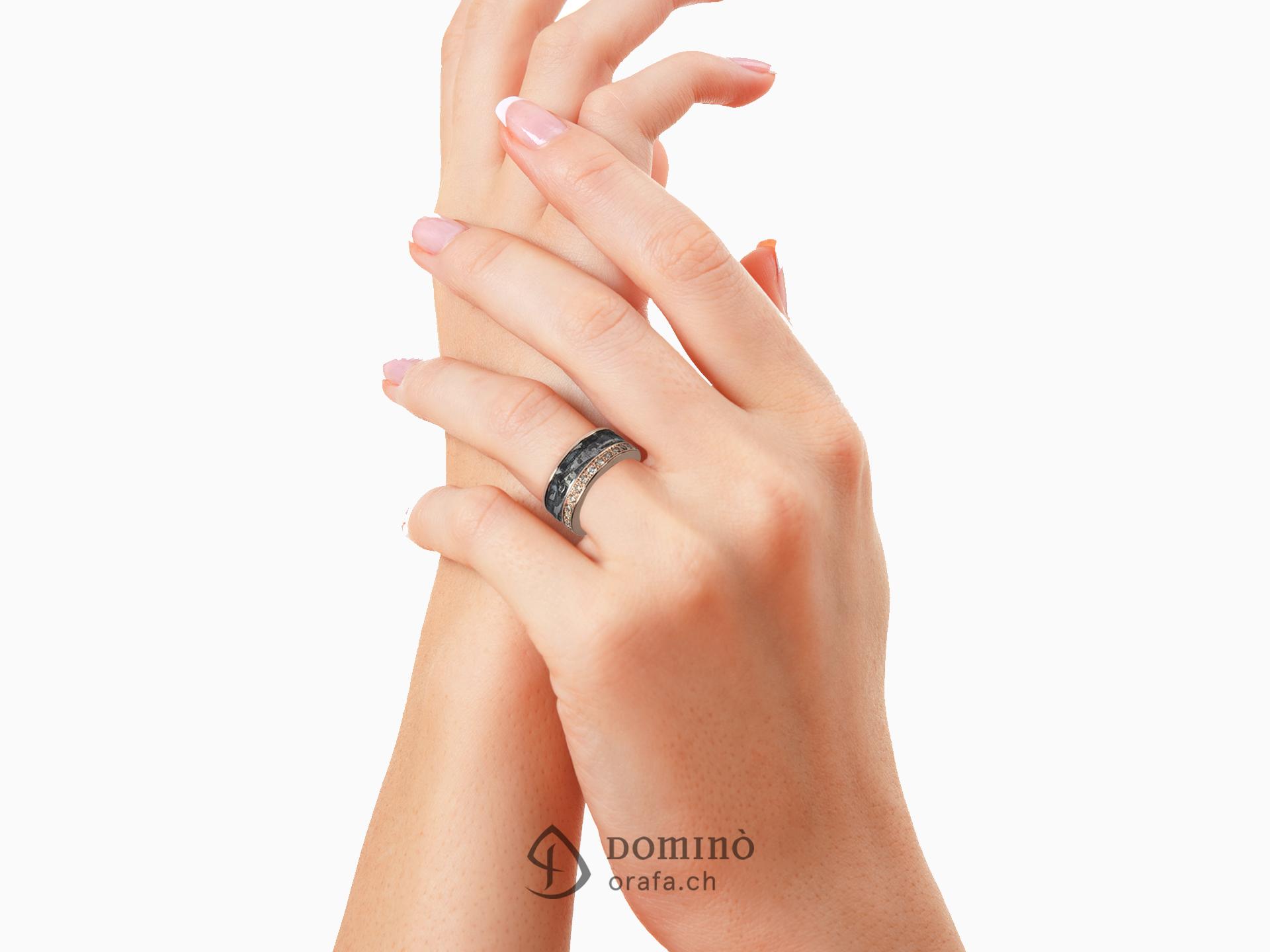 anello-ferro-metallo-prezioso-diamanti-incolore-sfumati-brown-2