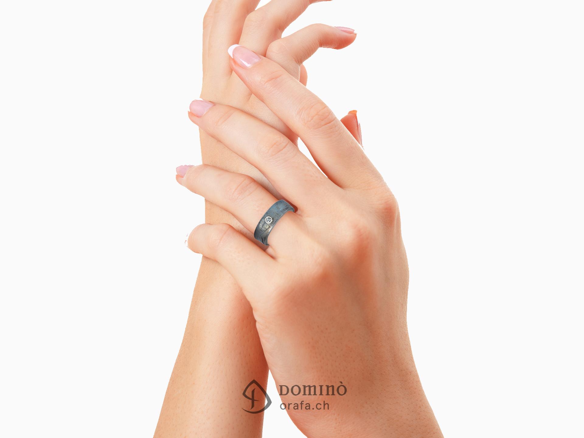 anello-ferro-prezioso-diamante-0,03ct-1