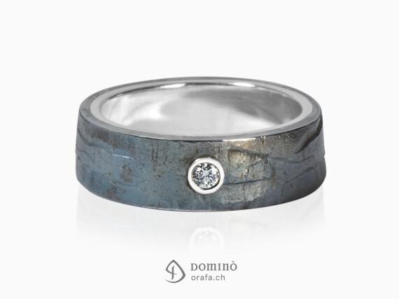 anello-ferro-prezioso-diamante-0,03ct-oro-bianco