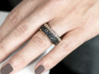 Ferro prezioso ring with diamonds