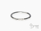 Diamonds ring White gold 18 kt