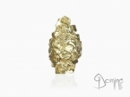 Long Frammenti ring Yellow gold 18 kt