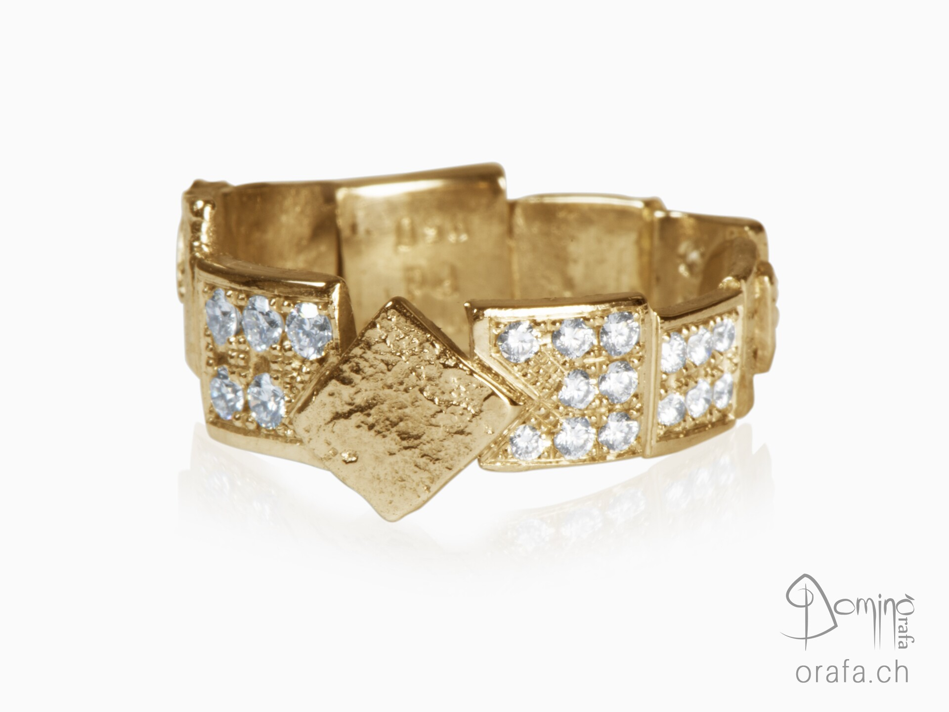Diamonds Frammenti ring