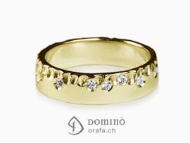anello-gocce-lucido-diamanti-sparsi-oro-giallo