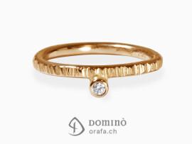 anello-linee-diamante-0.03ct-oro-rosso