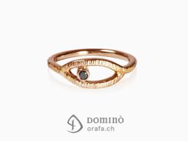 anello-linee-diamante-nero-oro-rosso