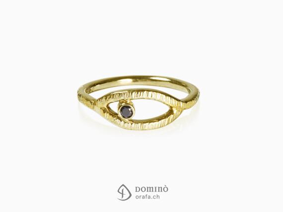 anello-linee-diamante-nero-oro-giallo