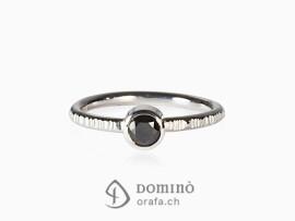 anello-linee-diamante-nero0,46ct-oro-bianco