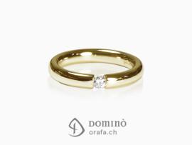 anello-lucido-diamante-0,1ct-oro-giallo