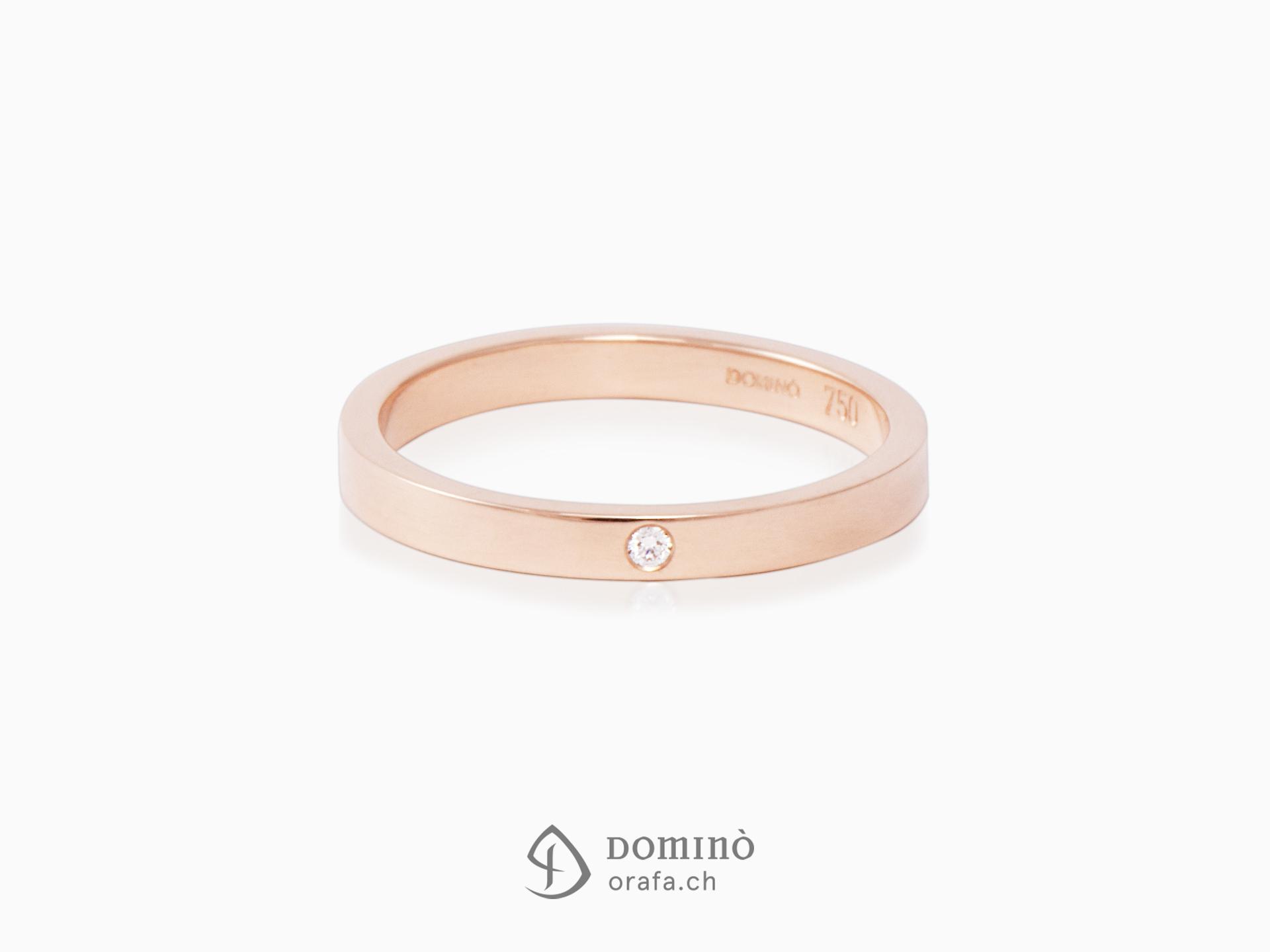 anello-lucido-diamante-oro-rosso