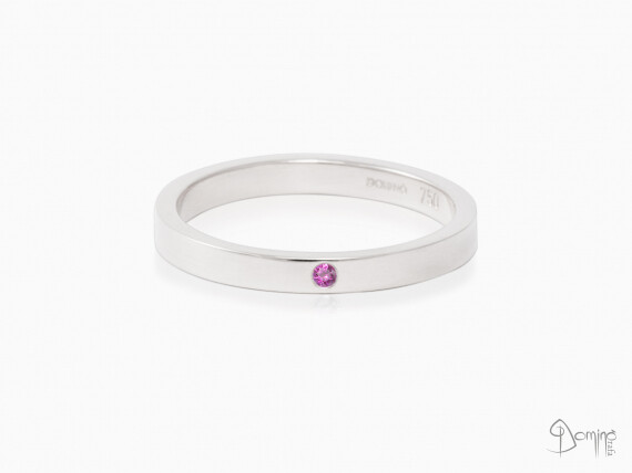 anello-lucido-zaffiro-rosa-oro-bianco