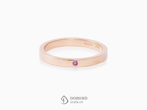 anello-lucido-zaffiro-rosa-oro-rosso