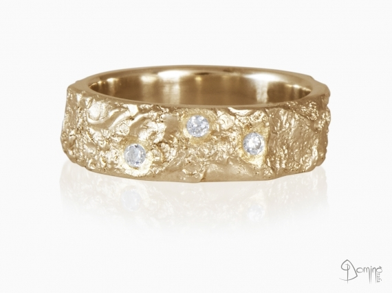 anello-oceano-3-diamanti-oro-rosso